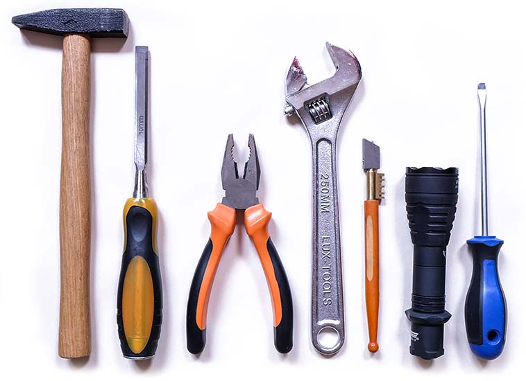 Reparatur-Cafe Hörup - Werkzeuge